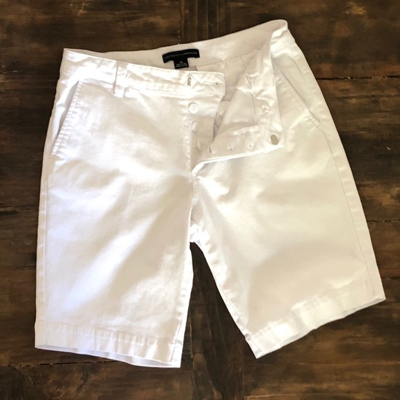 Sanctuary Pants - Sanctuary Anthropologie Bermuda White Shorts